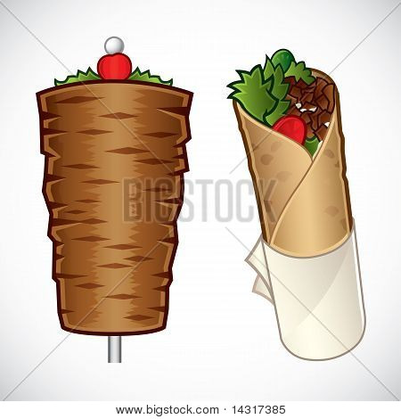Kebab illustration