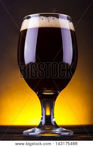 Glass Of Dark Beer