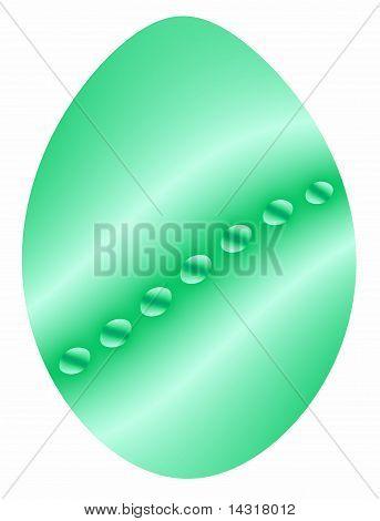 Easter Egg in Green