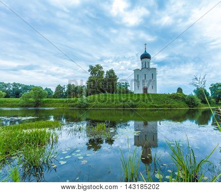Church Of The Intercession On The Nerl (1165)