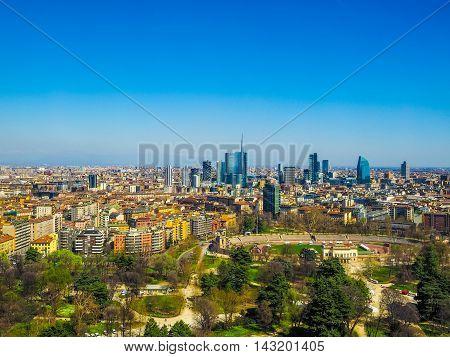 Milan Aerial View (hdr)
