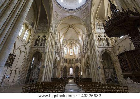 Saint Quiriace Church, Provins, Seine Et Marne, France