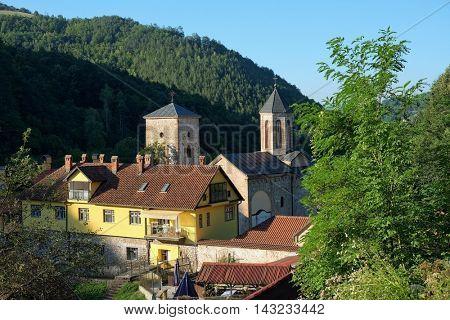 Raca Monastery is a Serbian Orthodox monastery near Bajina Basta, Serbia