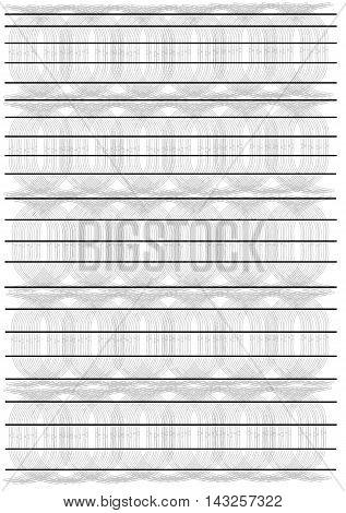 letter gray  backdrop patterned paper vektor illustration