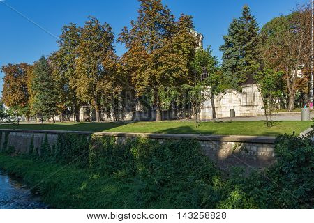 Park and St. George the Conqueror Chapel Mausoleum, City of Pleven, Bulgaria