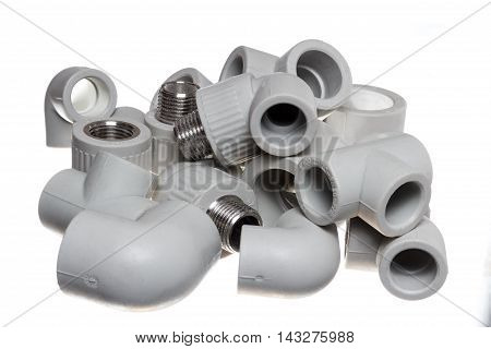 Polypropylene (PVC) fittings for plumbing and sanitary system