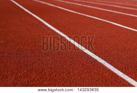 Track or Running Track and Running track  of the football field
