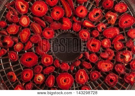 Strawberries And Drier Concept