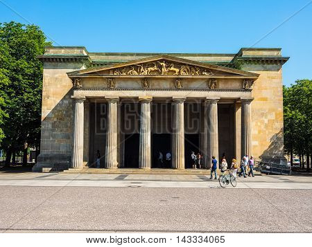 Neue Wache (new Guardhouse) In Berlin (hdr)