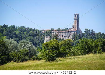 Vicenza, Italy - July, 17, 2016: villa Rotonda in Vicenza, Italy