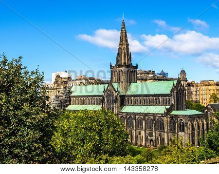 Glasgow Cathedral Hdr