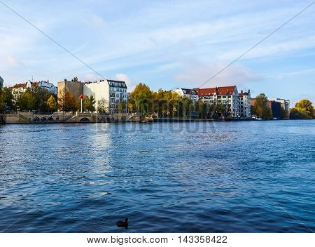 River Spree, Berlin Hdr