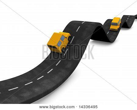 Waving Road