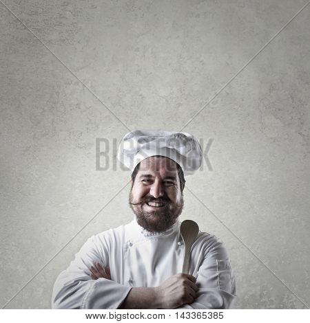 Portrait of a smiling chef