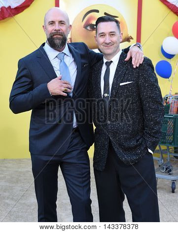 LOS ANGELES - AUG 09:  Conrad Vernon & Greg Tiernan arrives to the