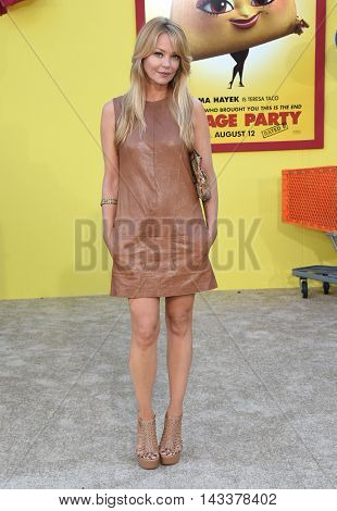 LOS ANGELES - AUG 09:  Charlotte Ross arrives to the