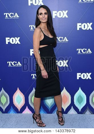 LOS ANGELES - AUG 08:  Jordana Brewster arrives to the FOX Summer TCA Party 2016 on August 08, 2016 in West Hollywood, CA