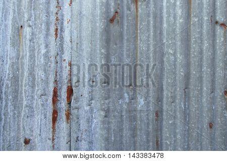 Old Rusty Zinc Wall