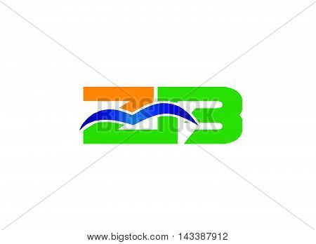 Cz logo. Letter Z and C logo vector, dc logo