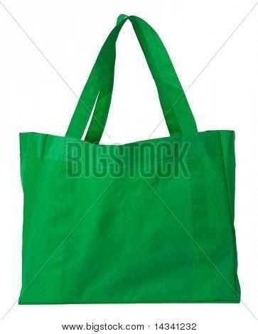 Bolsa verde, reutilizable