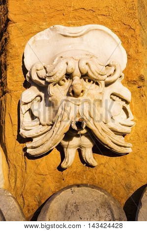 Antique Gargoyle In Florence, Italy