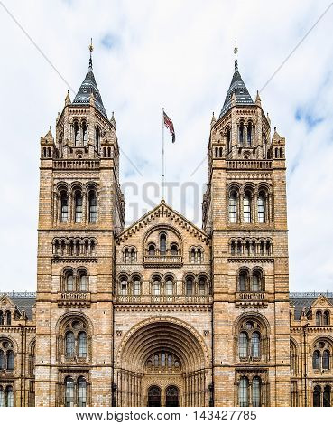 Natural History Museum In London Hdr
