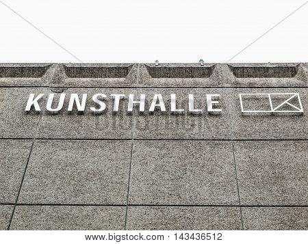 Kunstalle In Duesseldorf (hdr)