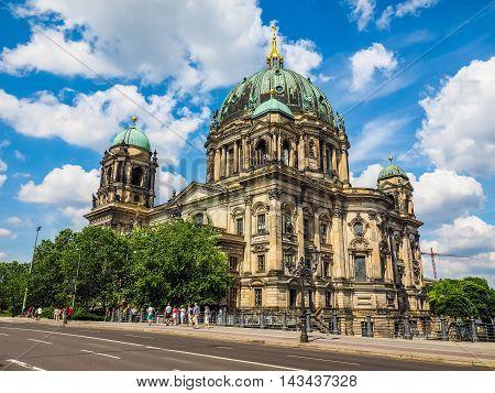 Berliner Dom In Berlin (hdr)