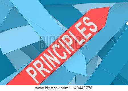 Principles Arrow Pointing Upward