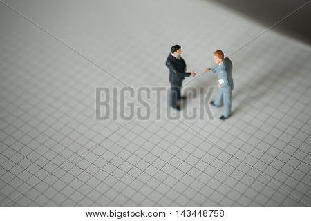 Business partner concept. Businessmen talking togather .