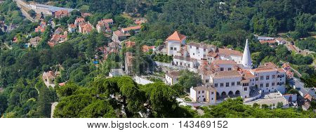 Palace Of Sintra, Lisbon District, Portugal