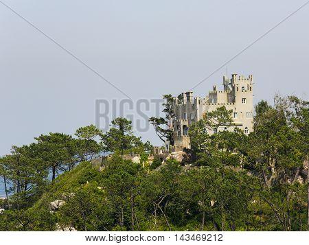 Romanticist Castle In Sintra, Portugal