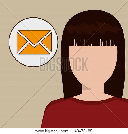 silhouette web internet app vector illustratio graphic