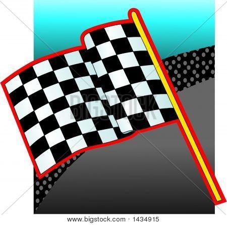 Race Car Flag.Ai