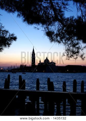 Venice, Italy At Sunrise