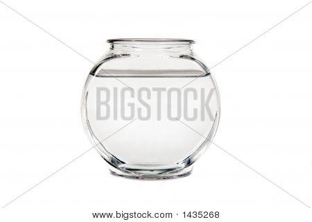 Taça vazia de calma da água