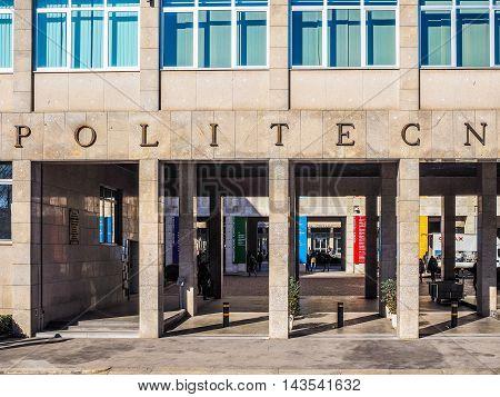 Turin Polytechnic (hdr)