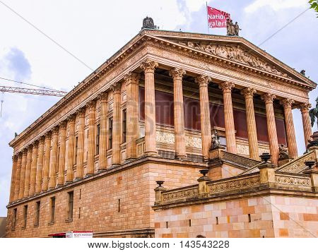 Alte National Galerie (hdr)