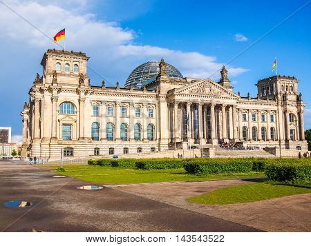 Reichstag In Berlin (hdr)
