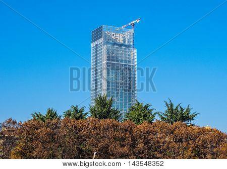 Regione Piemonte Skyscraper In Turin (hdr)