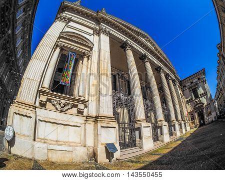 San Filippo Neri Church In Turin (hdr)