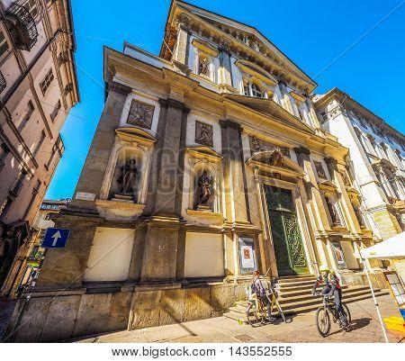 Santi Martiri Church In Turin (hdr)