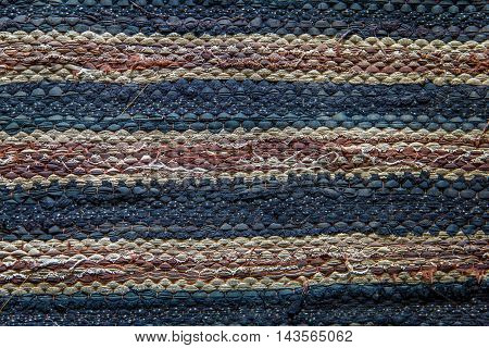 the texture of Doormat old background , texture background