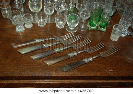 Knife, Forks