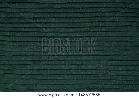 Green Folded Fabric