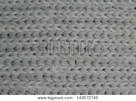 Light-green Knitted Fabric