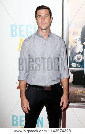 NEW YORK-JUNE 25: Pablo Schreiber attends the New York premiere of Weinstein company's