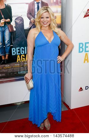 NEW YORK-JUNE 25: Megan Hilty attends the New York premiere of the Weinstein company's