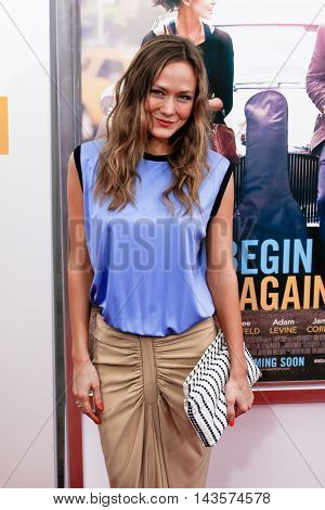 NEW YORK-JUNE 25: Louisa Krause attends the New York premiere of Weinstein company's