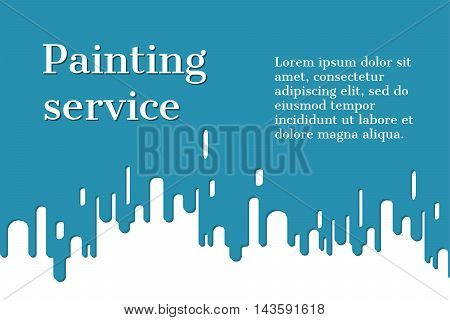 Paint Drips Vector